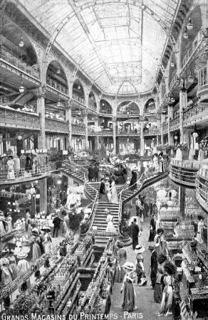 Le magasin du Printemps en 1900