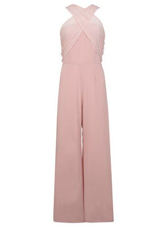Pink Wrap Jumpsuit - Rompers & Jumpsuits - Apparel OMG! Wrong color but this is perfect!