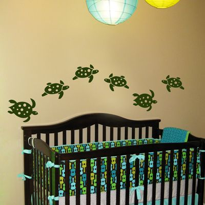 Great for baby's room, but I put it under turtle b/c, well, there were turtles...