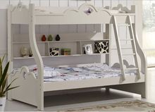 Korean bunk bed children's furniture children bunk bed White princess bed price 1.2*1.9M Double bed + fixed three smoke(China (Mainland))