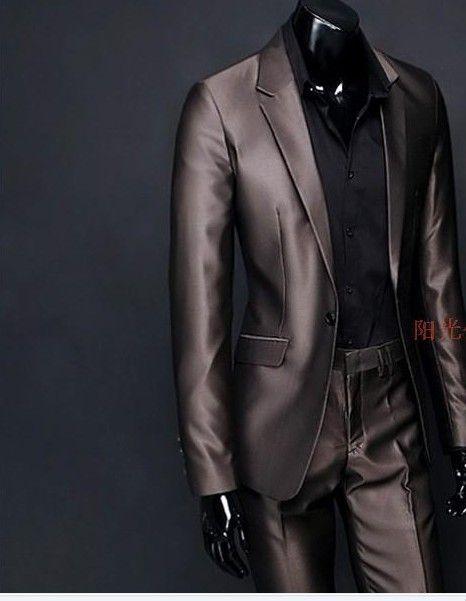 Ternos Masculino Brilhoso Acetinado Super Brilho Lançamento - R$ 390,90 no MercadoLivre
