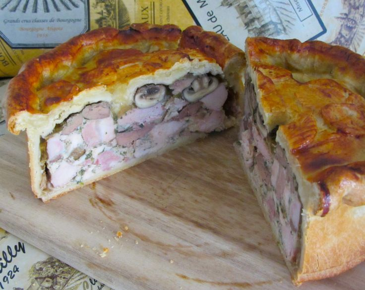 Pâtè en Croûte, bringing the luxury of French dining to your table.