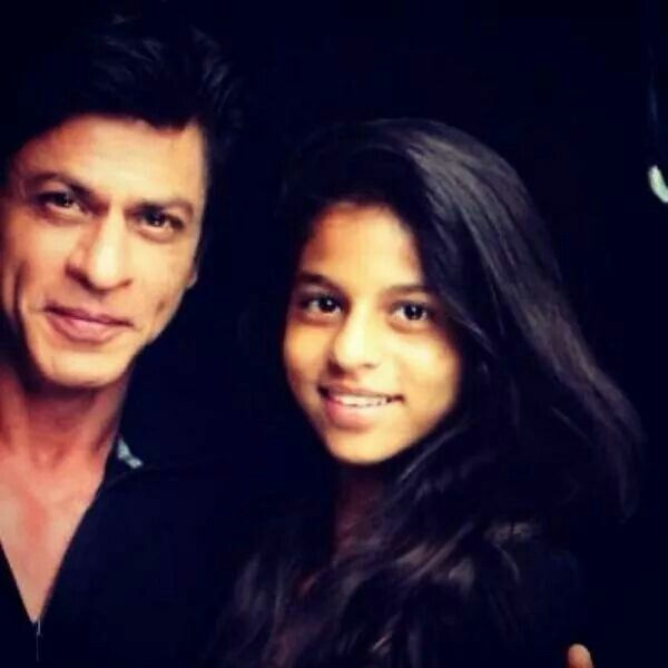 SRK and his daughter -2014