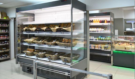Холодильные горки Индиана КУБ (пристенный регал) Новые в наличии! - Изображение 1