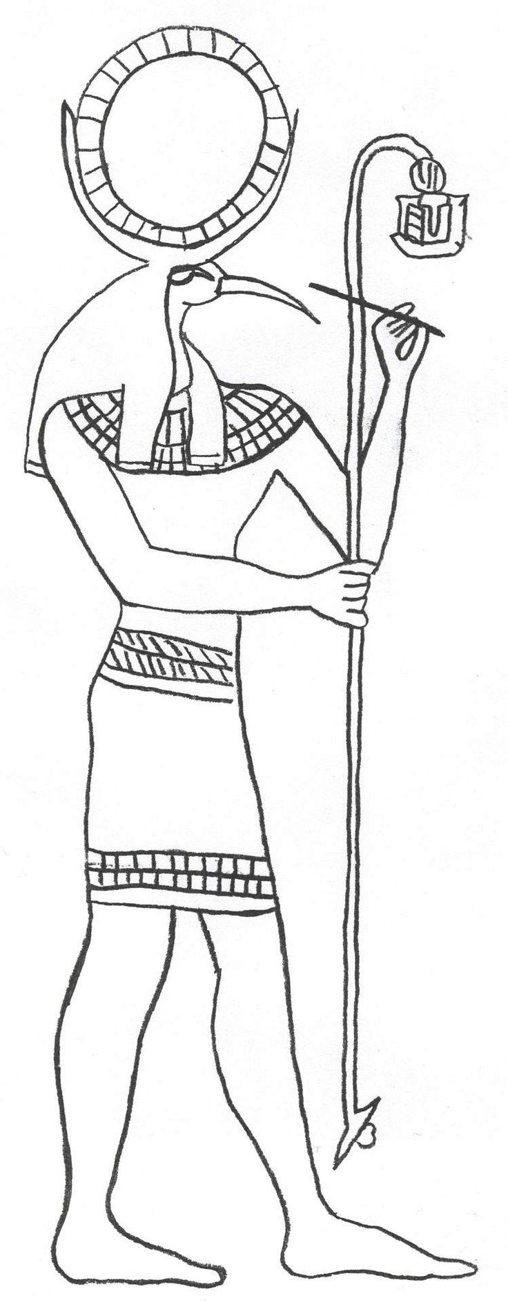 egyptian mythology coloring pages - photo#15