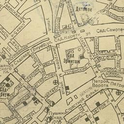 Старые карты Москвы и Подмосковья | Проломные ворота в Зарядье | История Москвы в картинках