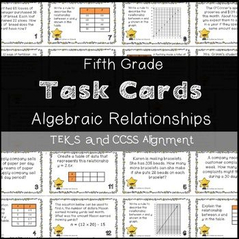 Looking for Problem Solving Task Cards that come with a TEKS Aligned and CCSS Alignment? These task cards are great for review, practice, small group, and test practice! Task cards are grouped into 2 sections: cards (1-10) and (11-20). Each set addresses the same standards so they can be used as 2 separate activities: a review and practice, or