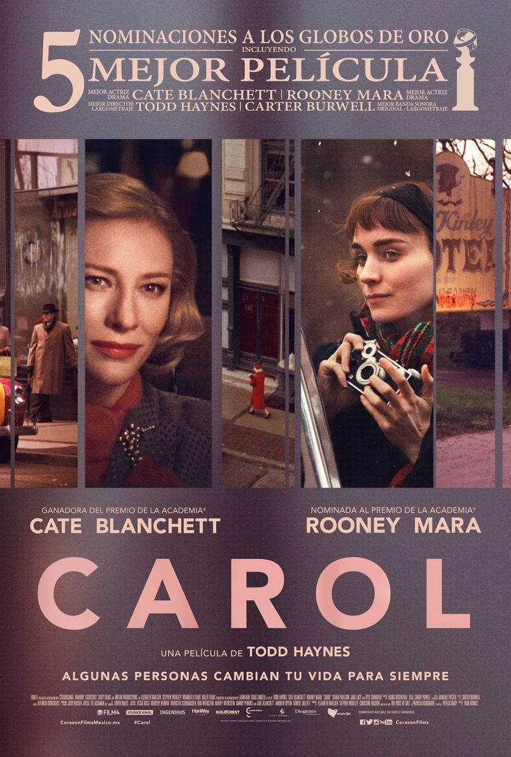 carol pelicula espanol   Google Search. 17 Best images about Carol  Cate Blanchett and Rooney Mara  on