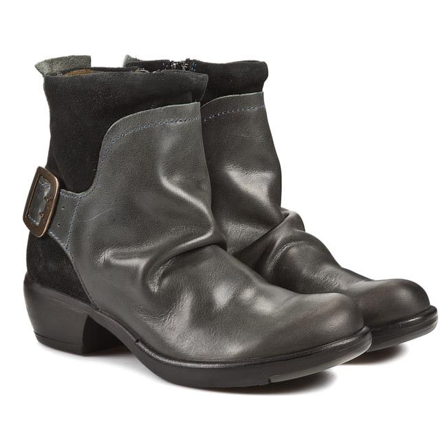 Botki Fly London Mel P141633010 Diesel Zielony Sxc 89073 Boots Fly London Ankle Boot