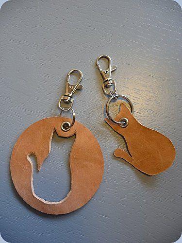 Porte-clefs en cuir