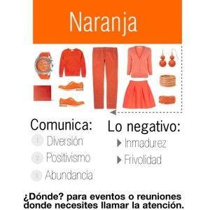 ¿Te gusta el color naranja? Aquí http://www.1001consejos.com/dime-que-colores-llevas-y-te-dire-quien-eres/ te decimos qué denotas cuando te lo pones.
