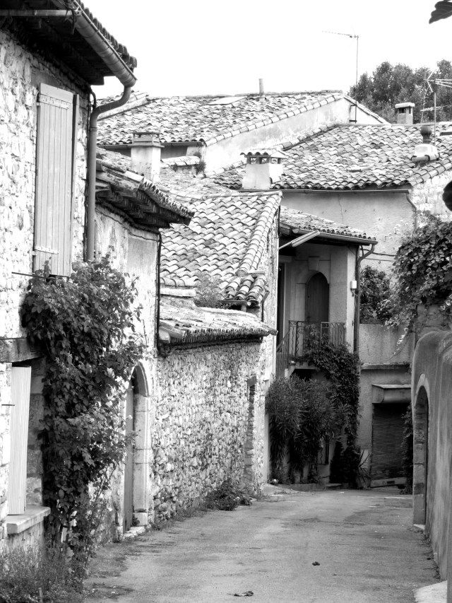 Behind the main street, St Hippolyte du Fort