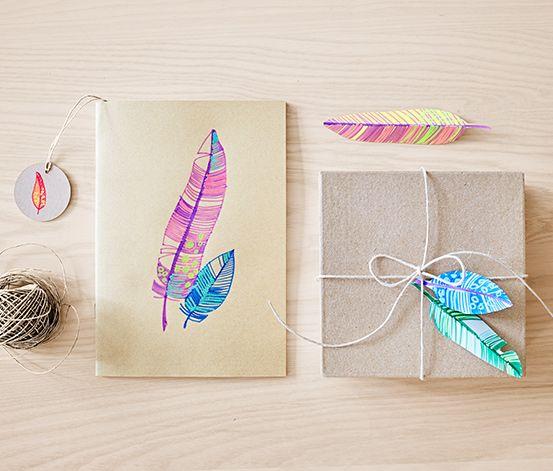 Kouzelné fixy a tip na dekoraci dárků