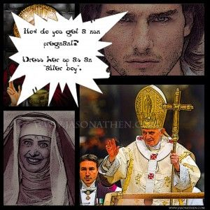 pope XVI  Dirty Joke XXX