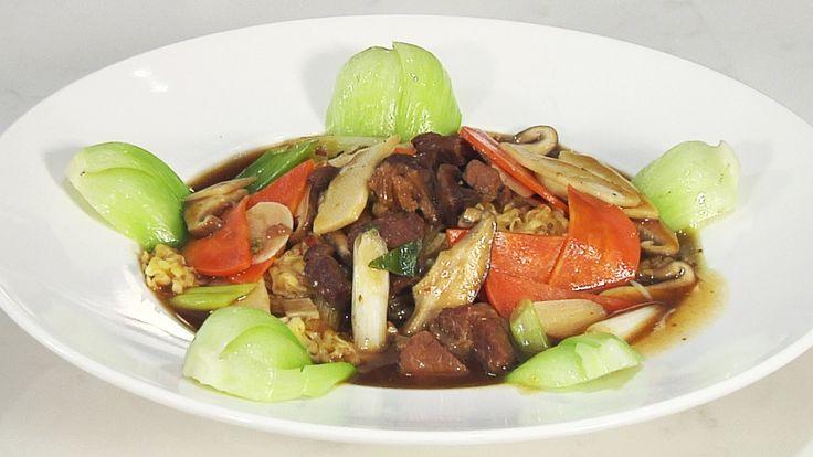 《冠軍廚師神料理 S1》創意泡麵料理#1 廣式蠔油牛肉燴麵