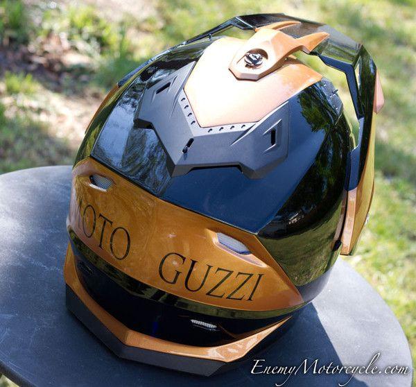 moto guzzi custom painted helmet stelvio 1200 ntx. Black Bedroom Furniture Sets. Home Design Ideas