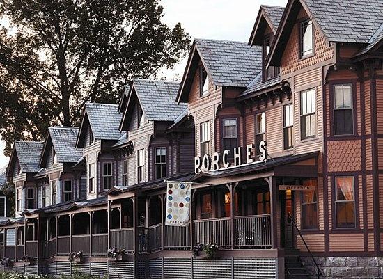The Porches Inn in North Adams, MA