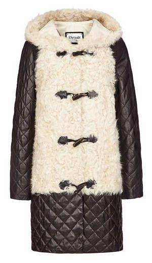 Купить Дафлкот из меха овчины и 107074000 virtuale fur collection