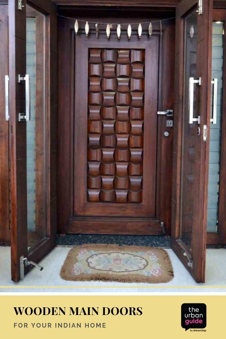 Wooden Main Door Design 10 Solid Ideas For Your Indian Home Wooden Main Door Design Wooden Main Door Main Door Design