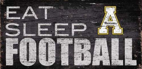 Appalachian State Football Sign Wall Art