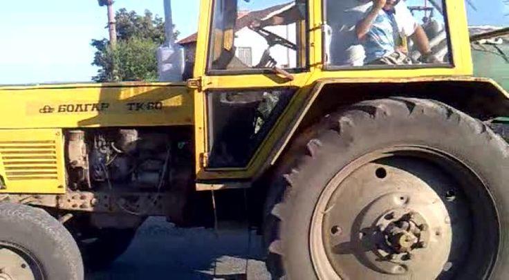 Мъж без книжка пострада след като подкара трактор и го преобърна на пътя