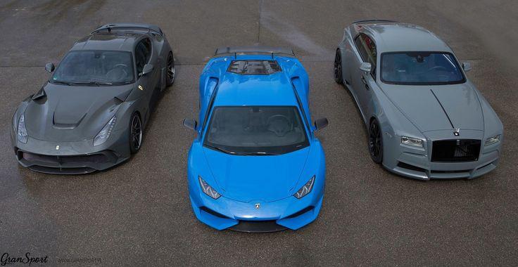 W nowym roku wracamy z nie lada dylematem! Szerokie Ferrari, szerokie Lamborghini czy może.. szeroki Rolls-Royce? Który N-Largo podoba się Wam najbardziej? Jedno jest pewne - każdy z nich jest niesamowity i każdy może powstać w GranSport  Zostawiamy Was z tym wyborem i szykujemy kolejne realizacje o których więcej już wkrótce!  GranSport - Luxury Tuning & Concierge Oficjalny Dealer NOVITEC GROUP http://gransport.pl/index.php/novitec.html