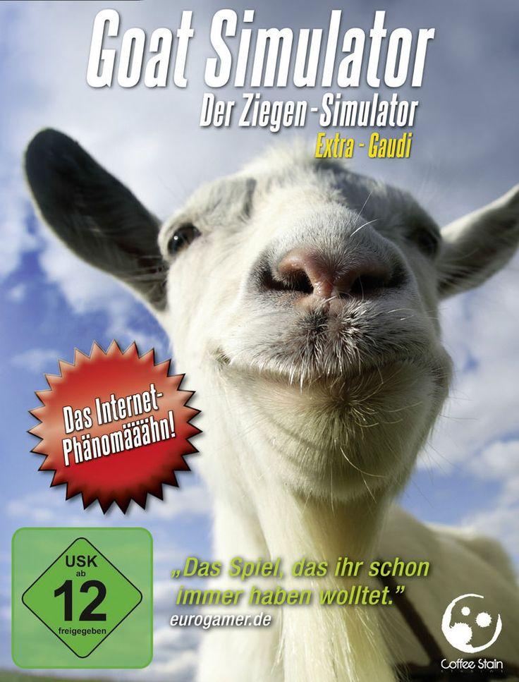 Goat Simulator - Der Ziegen-Simulator (PC, 2014, Steam, Downloadversion)