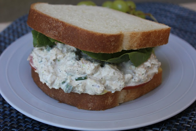 The perfect chicken salad recipe--just like Village Baker makes them. So amazing and great for a quick summer dinner or picnic!  (Deals to Meals): Dinner, Recipe, Meals, Chicken Salads, Baker Chicken, Village Baker, Deals, Food Budget, Chicken Salad Sandwiches