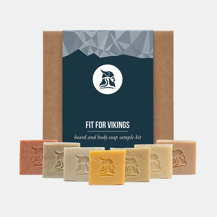 Beard and Body Beer Soap Sample Kit