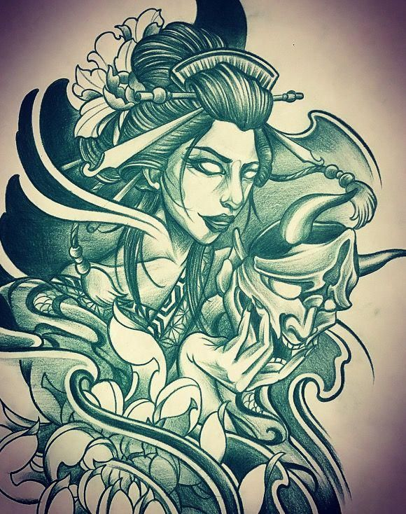 Japanese Element Tattoos Japanesetattoos Japanese Tattoo Geisha Tattoo Design Geisha Tattoo