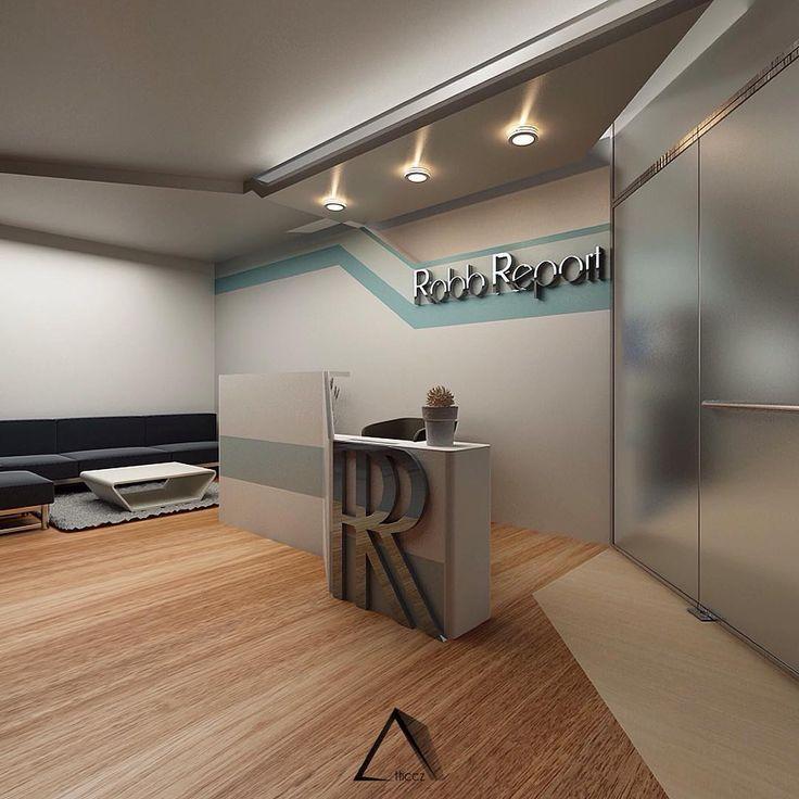 Lobby - Robb Report #lobby #design #interior #office #magazine