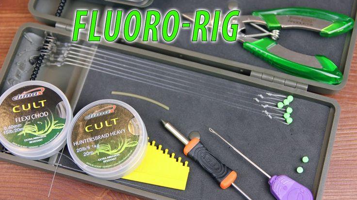 Самый уловистый карповый поводок из флюорокарбона. Fluoro-Rig HD