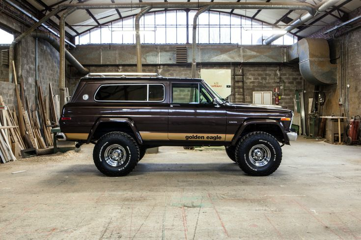 Not the golden Eagle but the 1978 2 door Cherokee Chief. It was really a luxurious SUV for its day.
