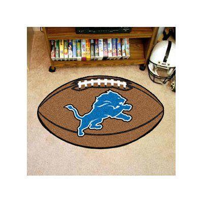 FANMATS NFL - Detroit Lions Football Mat
