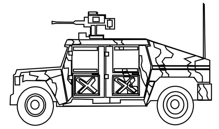christmas military coloring pages - photo#34