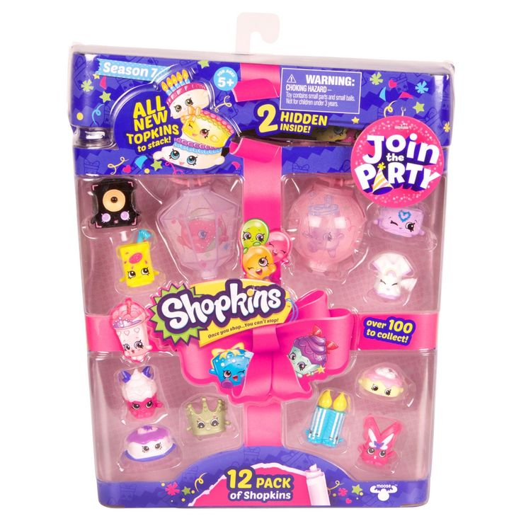 "It's a Shopkins ""Fun-For -All""!  New Season 7 Shopkins to meet and collect. It's all about fun and parties this season. So get ready celebrate because once you shop you can't stop!                                             <br><br>Get ready! It's party time! <br>• Fun, games, music and cake, there's just so much to celebrate!<br>• Decorate your room with lovely lanterns! They're t..."