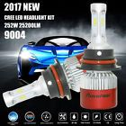 9004 252W 25200LM CREE LED Headlight Kit High Low Beam Bulbs White 6500K Power