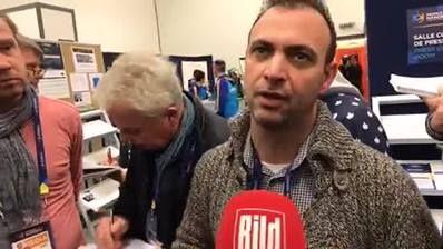 Pressekonferenz von IHF-Präsident Dr. Hassan Moustafa zum TV-Chaos in Deutschland – mit DHB-Präsident Andreas Michelmann. Wer sind für Handball-Weltboss die Schuldigen?