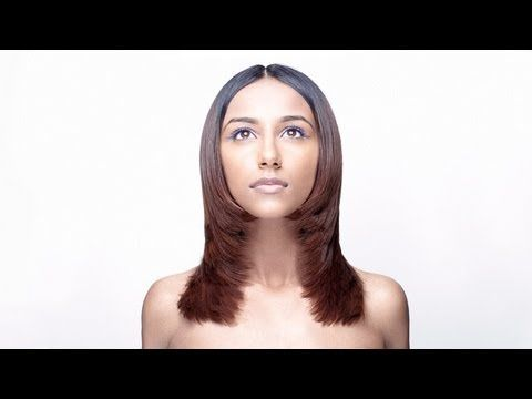 ▶ How to cut women's long hair - Basic Long Uniform Layer - Preview 267 - YouTube