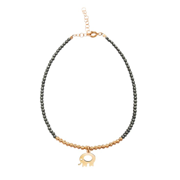 2017 Trend Fashion Hematite Beads Chain 925 Sterling Silver Bracelet