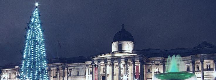 Facebookカバー写真:ロンドン:トラファルガー広場&ナショナル・ギャラリー
