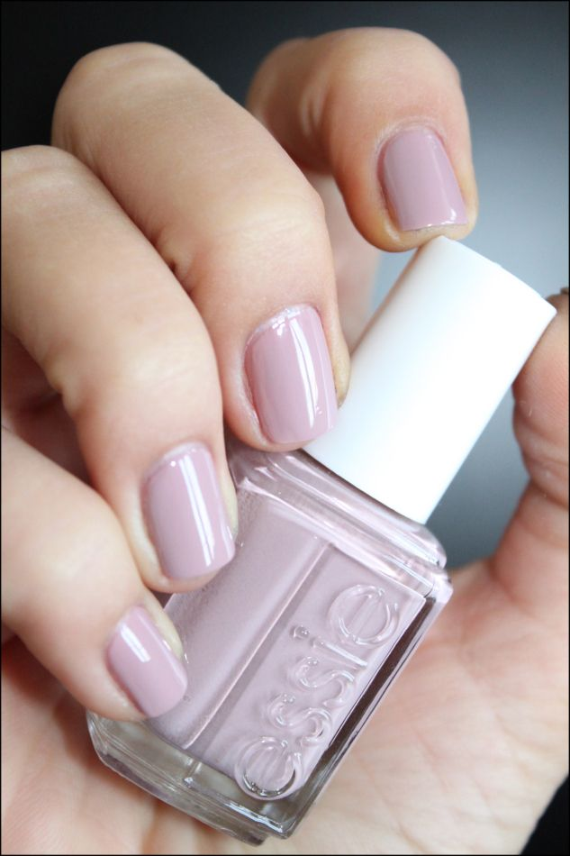 Essie Lady Like---this is my new favorite color. It's on my nails right now!