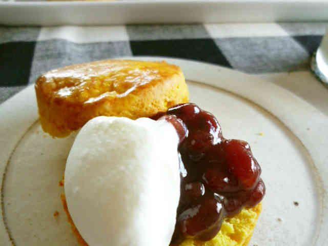 カボチャのスコーン ハロウィンの朝食に!の画像