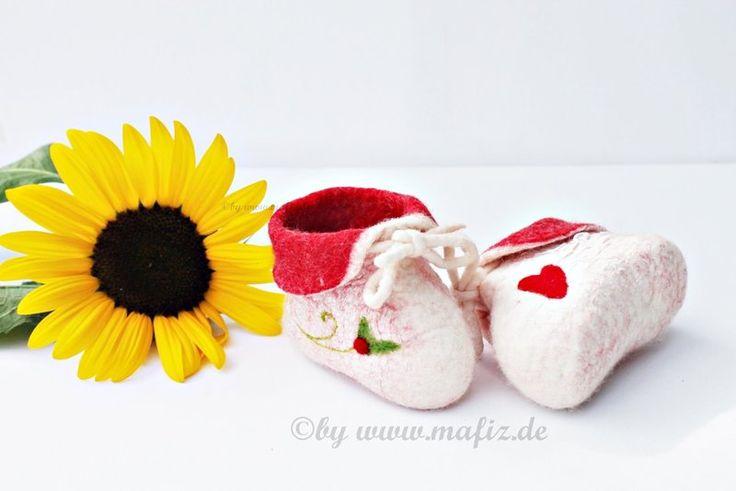 Chaussures en #feutrine pour bébé
