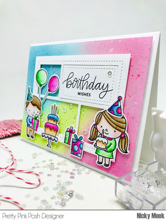 Birthday friends pretty pink posh card by nicky noo cards card by nicky noo cards nickynoocards cards tag pinterest pretty pink posh cards and handmade birthday cards bookmarktalkfo Images