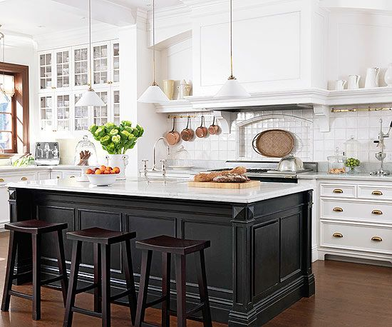 The 25 best french bistro kitchen ideas on pinterest for Kitchen cabinets france