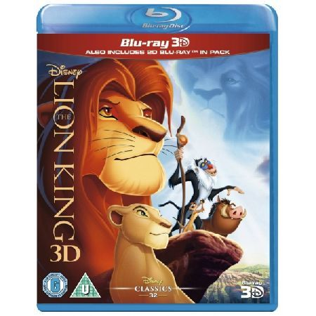 DISNEY The Lion King 3D 2D Blu-ray Please note this is a region B Blu-ray and will require a region B or region Free Blu-ray player in order to play The adventure-filled story of Simba the Lion who is finding it difficult to accept the http://www.MightGet.com/march-2017-2/disney-the-lion-king-3d-2d-blu-ray.asp