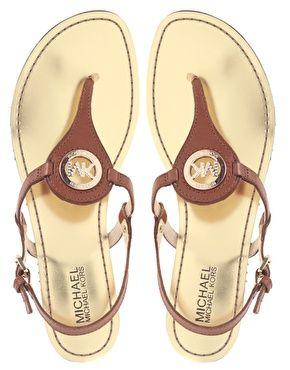 michael kors capri thong. latest spring purchase :)