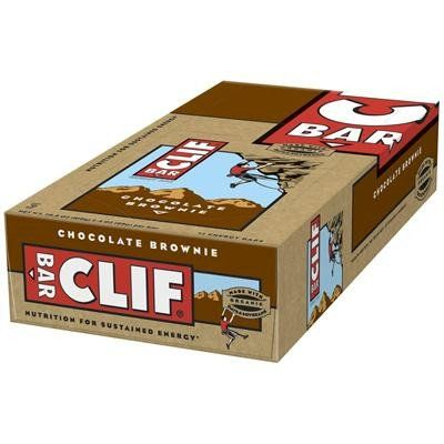 Clif Bar - Organic Chocolate Brownie - Case of 12 - 2.4 oz ** Click on the image for additional details.