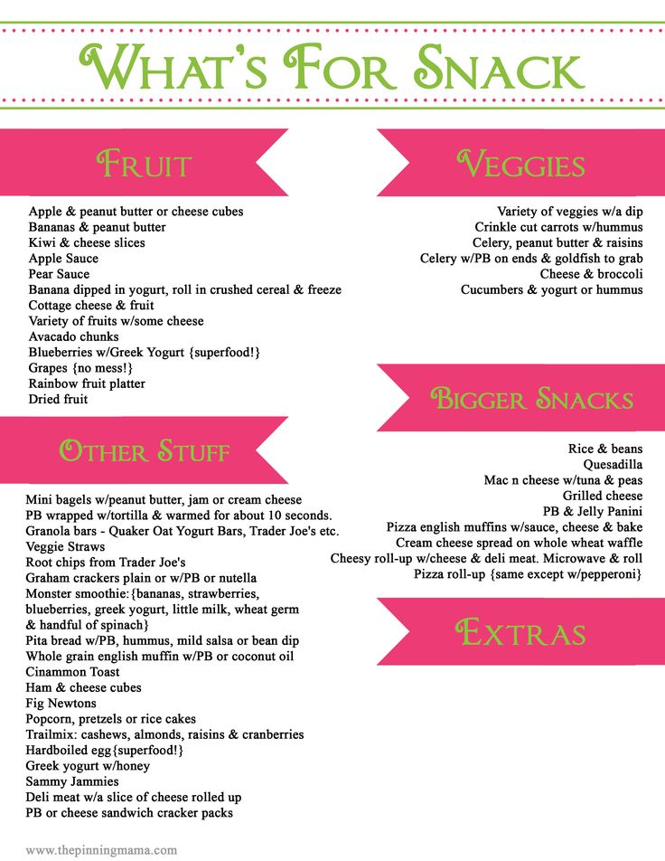 Healthy Toddler Snack Ideas www.thepinningmama.com